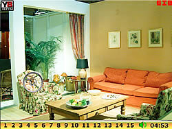 Hidden Numbers Living Room