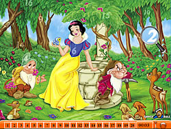 Hidden Numbers – Snow White
