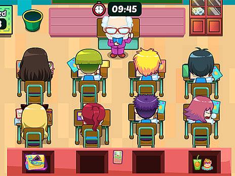 Lily Slacking School