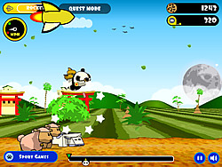 Rocket Panda : Flying Cookie Quest
