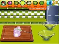 Sara's Cooking Class – Garlic Pepper Shrimp