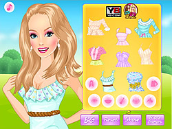 Spring Mood Dress Up game