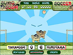 Sumo Sushi Soccer