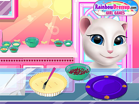 Talking Angela Cooking Session