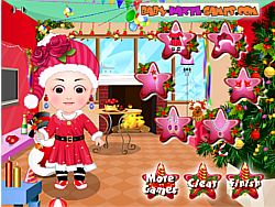 Baby Hazel Christmas Dress Up