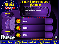 The Inventors Quiz Game