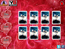 Valentine Cards Match