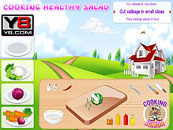 Cooking Healthy Salad